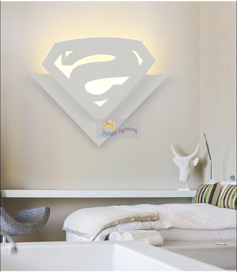 Bambini in camera 8 w led lampada da parete abajur cartone animato ...