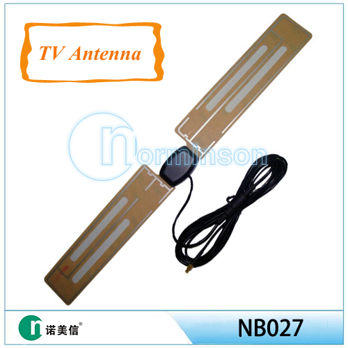 [Manufactory]tv antenna amplifier,film antenna,active patch high gain tv digital antenna(China (Mainland))