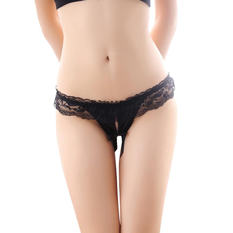 image Suela de mujer en panty tanga
