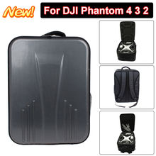 Free shipping Updated Protective Waterproof Backpack Shoulder Bag For DJI Phantom 4 3 2 font b