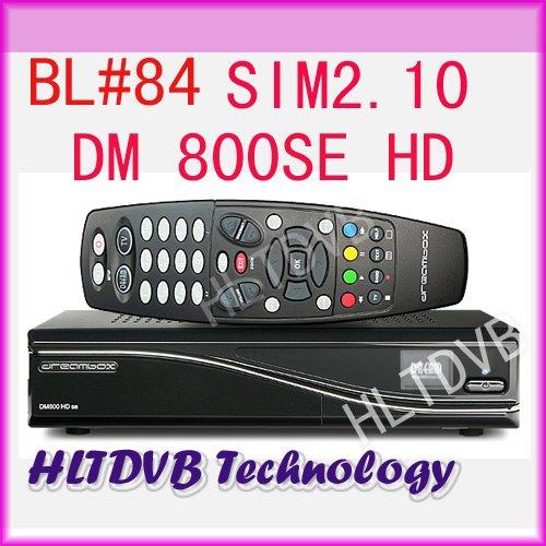 FULL HD Satellite TV Receiver DM800se dm800hd se BCM4505 Tuner Media Player CPU 400MHZ Processor sim2.10 High Quality(China (Mainland))