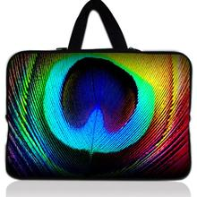 Buy Peacock's Feather 14'' Laptop Zipper Soft Bag Cover Notebook Sleeve Case Pouch 14.4 Dell Vostro Acer Asus HP Pavilion 14 for $10.06 in AliExpress store