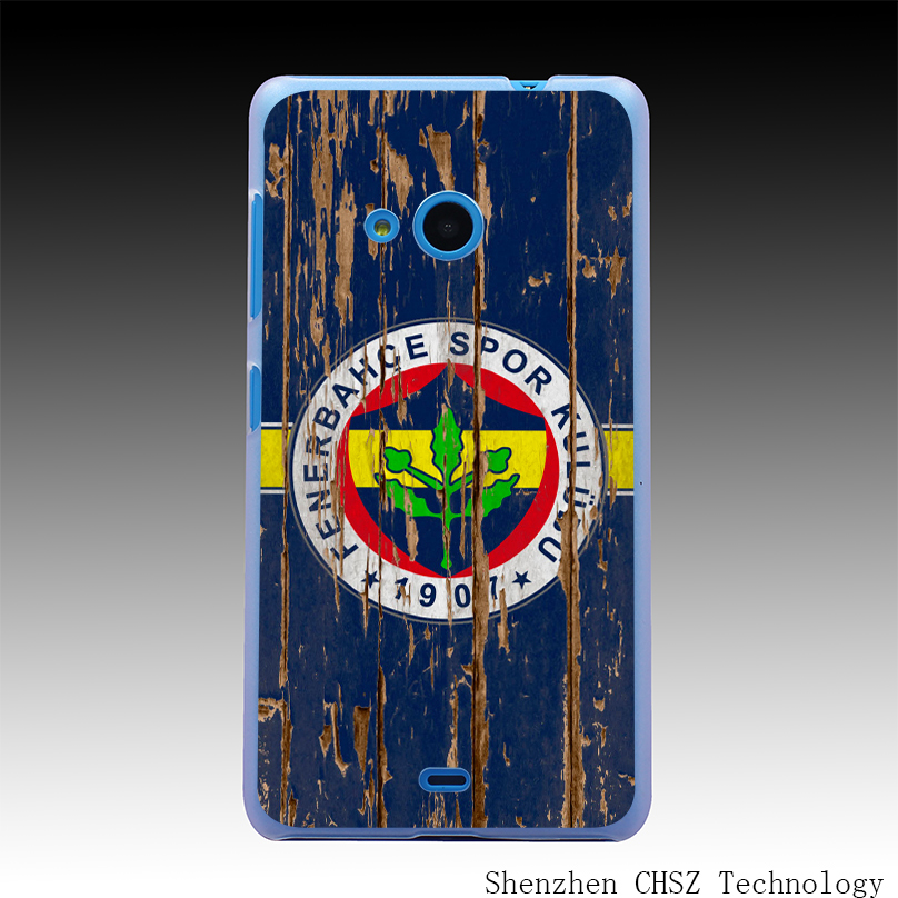 219R Fenerbahce Football Club Wood Hard Clear Case Transparent Cover for Microsoft Nokia Lumia 535 630 640 640XL 730(China (Mainland))