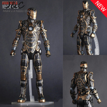 Hot The Avengers IronMan Action Figure 30cm MK41 Iron Man Doll PVC ACGN figure Toy Brinquedos Anime kids toys