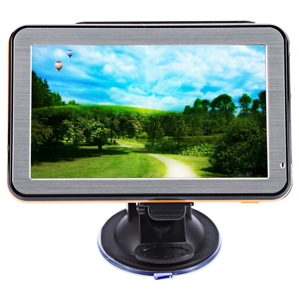 High Technology GPS Navigator 5 inch Touch Screen Car GPS Navigation Portable Truck Navigator 800Mhz SIRF - Atlas6 CPU 3D Maps(China (Mainland))