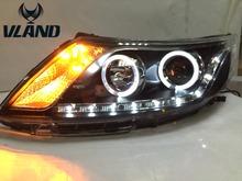 Buy Free vland factory Car styling headlamp KIA K2 headlights 2012 2014 RIO LED K2 headlight accessories for $584.00 in AliExpress store