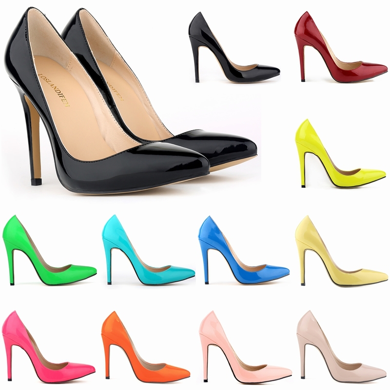 Innovative New 2015 Fashion Sexy High Heels Shoes Woman Pumps Party Wedding Shoes
