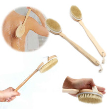 Wooden Handle Shower Back Brush/Spa Scrub