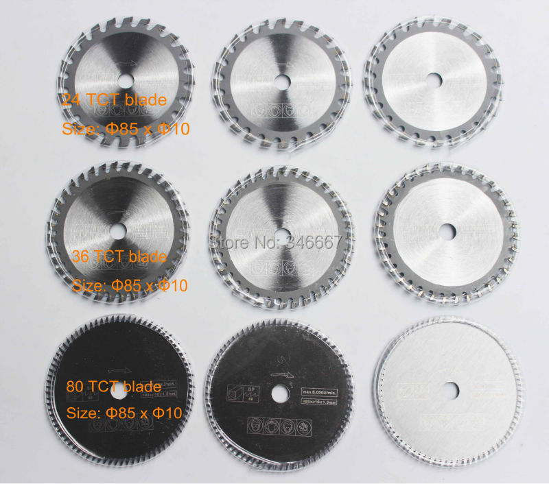Mini saw blade working for wood and plastic 9 pcs for Multi-function power tools<br><br>Aliexpress