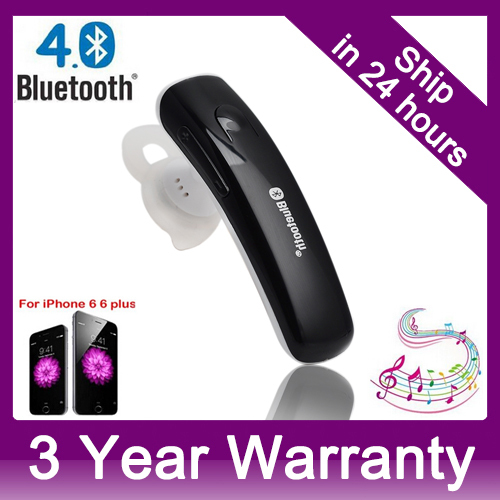 Voice Control Wireless Bluetooth 4.0 Stereo Headphones Headset Earphones w/ Handsfree for Apple iPhone Samsung Sony Xperia HTC(China (Mainland))
