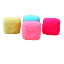 mini Bathroom Dish Plate Case Home Shower Travel Hiking Holder Container Soap Box(China (Mainland))