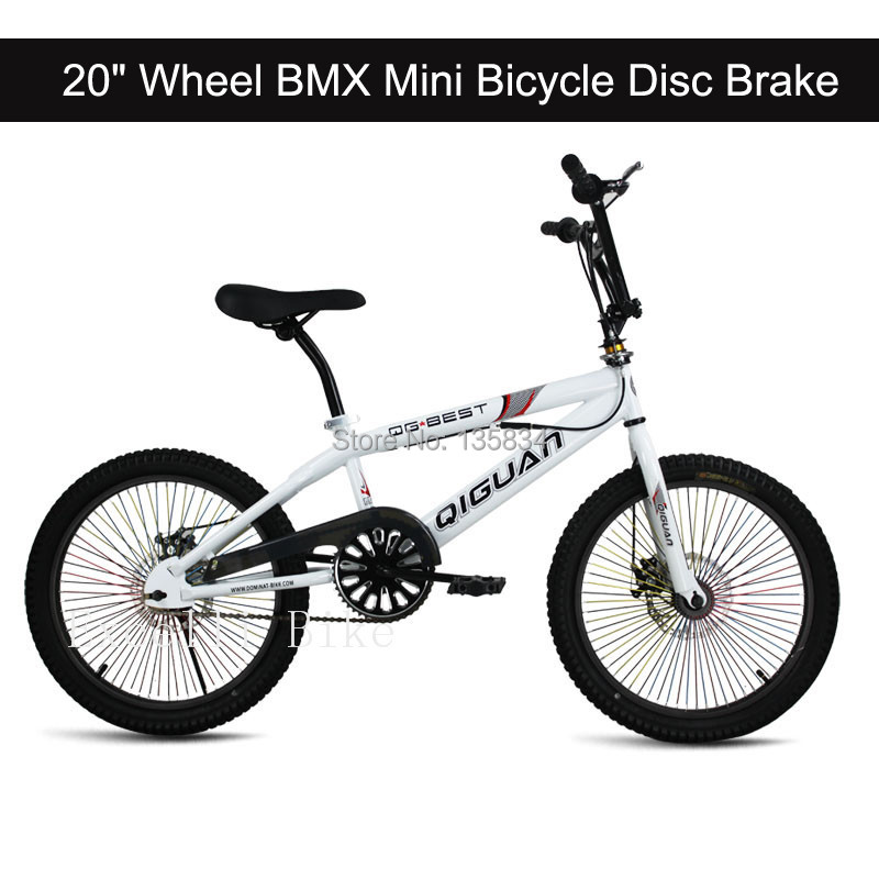 "68 Spokes 20"" Wheel 12"" Frames 360 GYRO Urban Cultures Street BMX Mini Bicicleta Infantil BMX Disc Break City Bicycle Free Style(China (Mainland))"