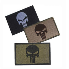 Buy Embroidery Patch Punisher Skull Embroidered Patches Badge Military Tactical Clothing Backpack Badges Armband Sewing Applique for $1.32 in AliExpress store