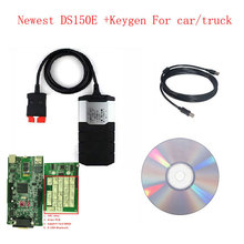 OBD Scanner Car Diagnostic Tool For Delphi DS150E For Autocom CDP Pro Plus OBD2 with Keygen Free activation without bluetooth(China (Mainland))