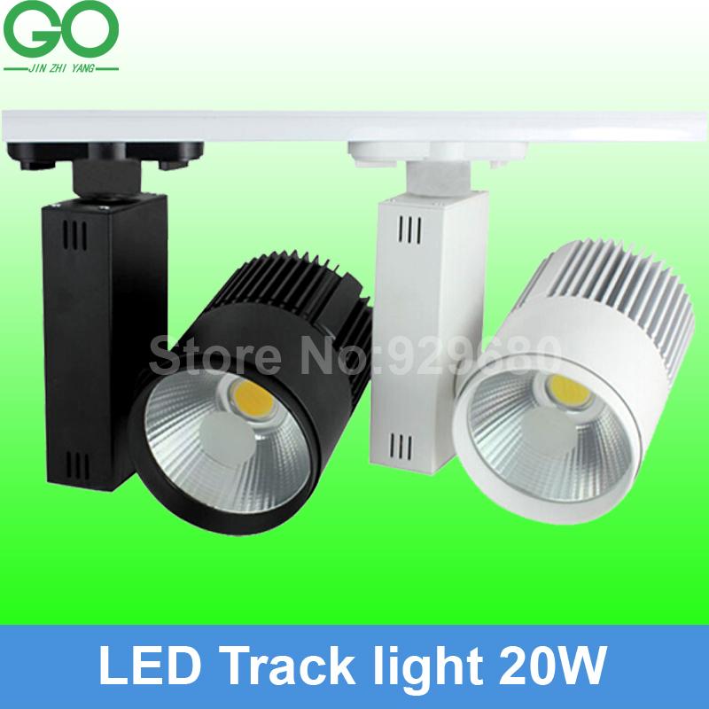 free shipping(10pcs/lot),LED Track Light 20W COB Rail Light Spotlight strip Equal to 200w Halogen Lamp 110v 120v 220v 230v 240v(China (Mainland))