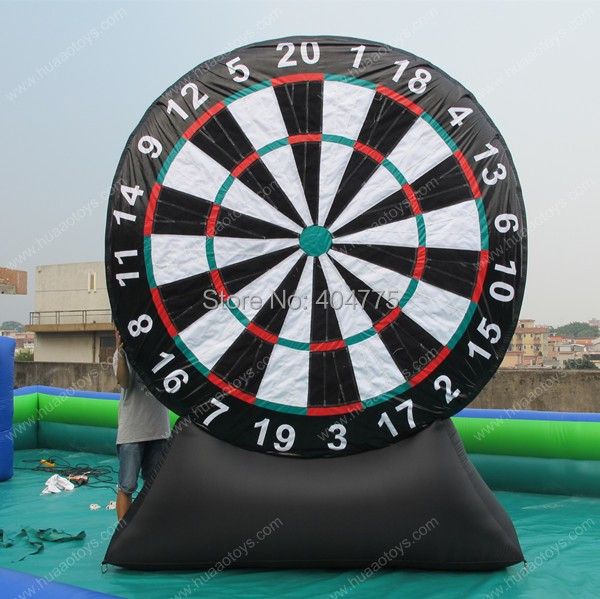 Lowest price dart game inflatable games sport with free CE/UL blower storage bag and free shipping by air express to door(China (Mainland))