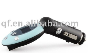 wholesale and retail free shipping New Arrival Car MP3 Player FM Transmitter with 4GB TF Card and Remote Control