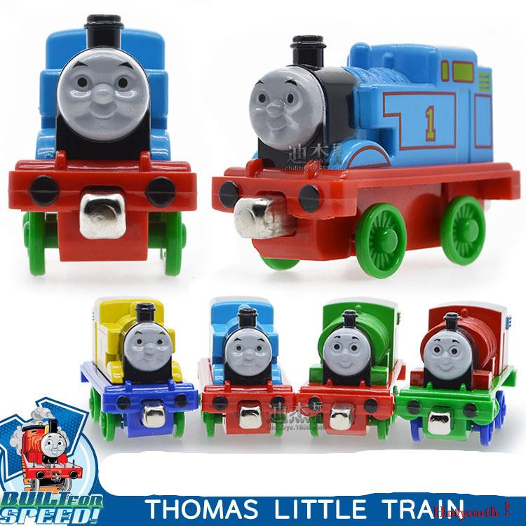 4pcs/lot diecast metal thomas and friends engine trackmaster toys for kids Thomas/ James/ Percy/ Modoffer Gifts for children(China (Mainland))