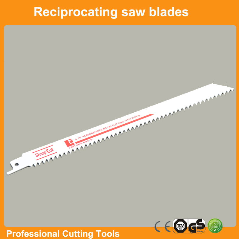 Free Shipping:reciprocation saw jigsaw blade for wood working and wood board with 8inch and 6TPI fast cutting Saber saw 10pc/lot<br><br>Aliexpress