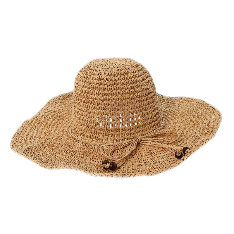 Sun Hat Wide Brim Beach Kentucky Derby Sun Hats For Women Girls Straw Flat Top Hat Sombreros Sun Hats For Women With Big Heads(China (Mainland))