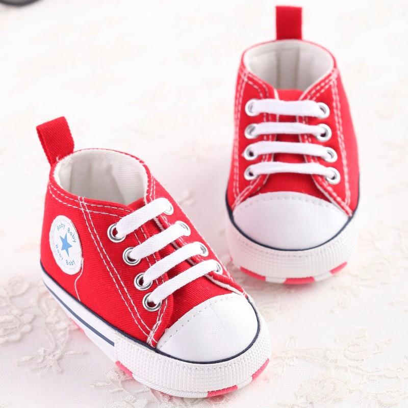 Новорожденный Ребенок Впервые Walkers Обувь Весна Осень Мальчики Девочки Дети Младенческой Малыша Классические Спортивные Кроссовки Мягкой Подошве Anti-slip обувь
