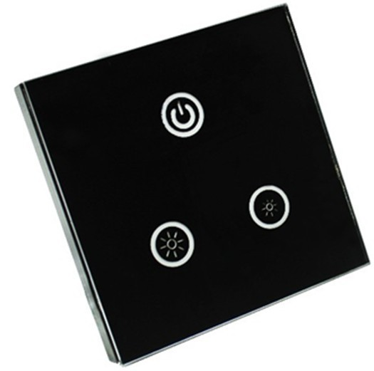 0-10V LED touch panel dimmer,AC90-240V input,voltage signal 0-10V output