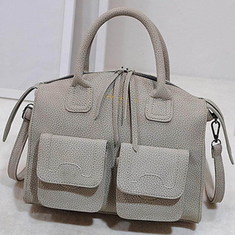 women bag messenger bags leather handbags famous brands european and american style pocket 2015 fashion designer shoulder new PU<br><br>Aliexpress