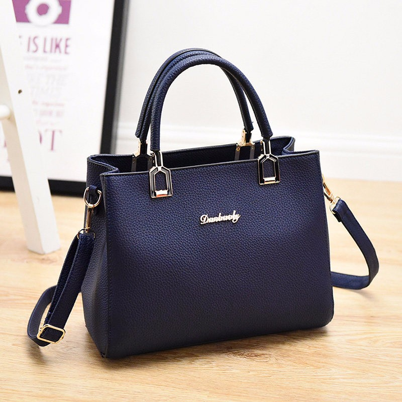 Large Simple Women Bag Designer Trendy Occident Style Concise Handbag Ladies Newest Shoulder Bag Fashion PU Crossbody Bag