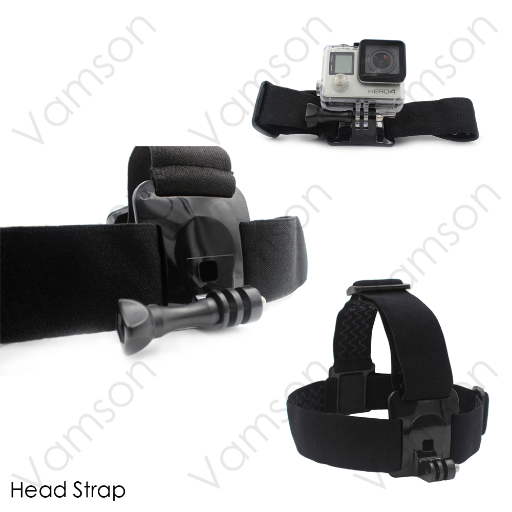 Xiaomi Yi 4 K Accessories Head Strap Chest Strap Suction Cup For Gopro Hero 5 4 3+ 4session SJCAM SJ4000 EKEN H9R VS69