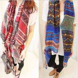 2016 New design bohemia women fashion retro cotton scarf big size - HM Scarf store