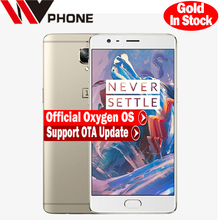 "Original Oneplus 3 A3000 Mobile Phone Snapdragon 820 Quad Core 5.5"" Android 6.0 Smart Phone 6G RAM 64G ROM 16MP Fingerprint NFC(China (Mainland))"