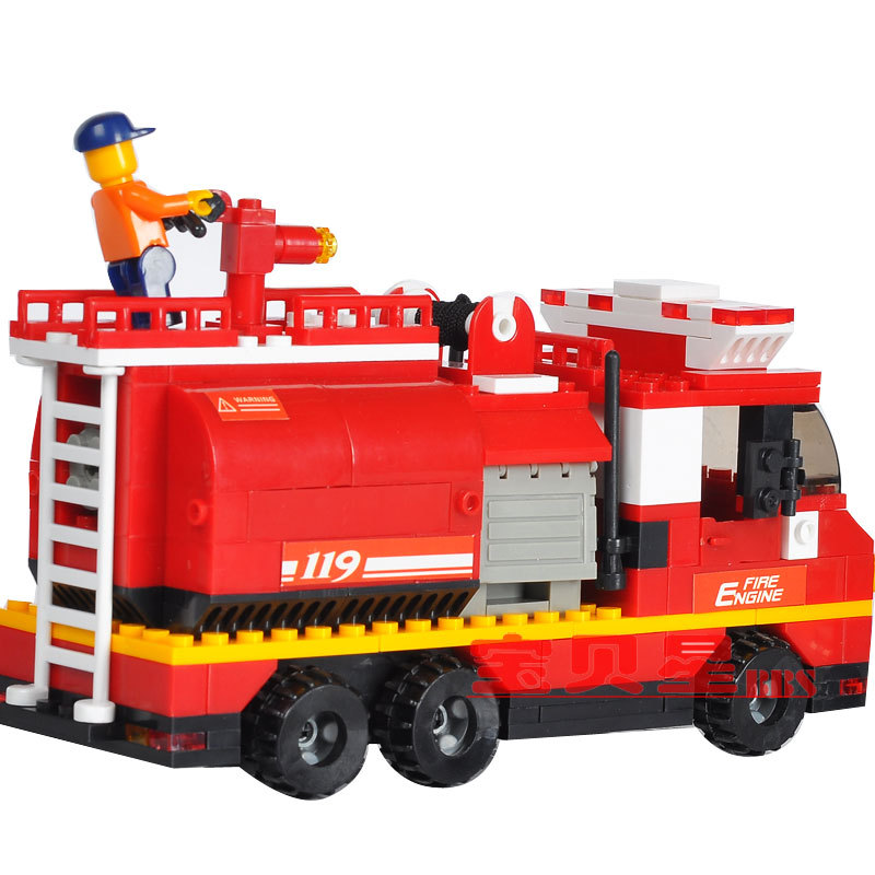 building block rapid fire tank fire Designers children educational toys Lego compatible(China (Mainland))