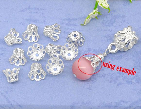 Lovely beads 200 6x5mm