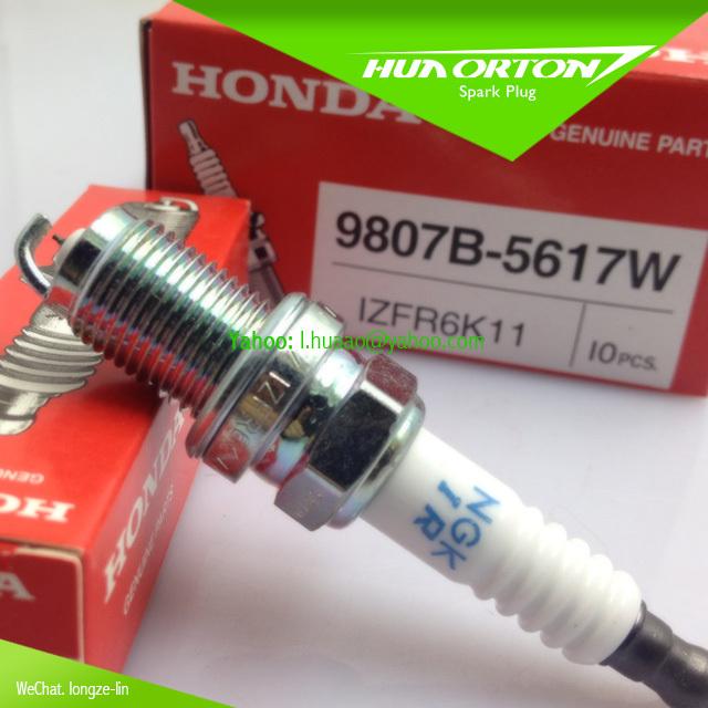 Free shipping High performance NGK spark plug MADE IN JAPAN IZFR6K11 9807B-5617W for HONDA
