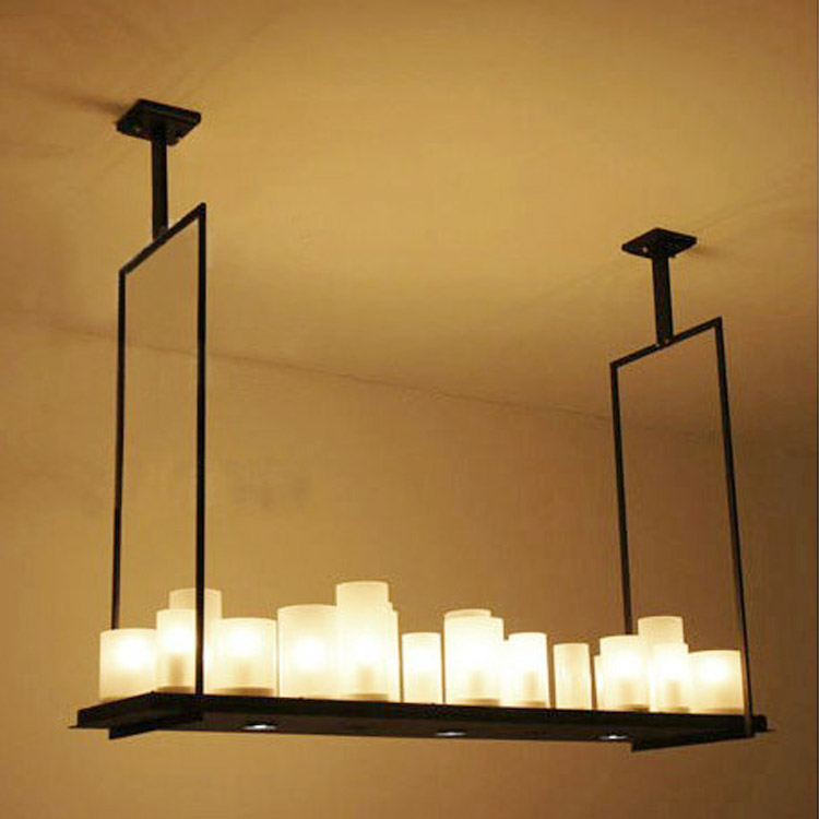 Kevin Reilly French Annular Altar Led Candle Pendant Light