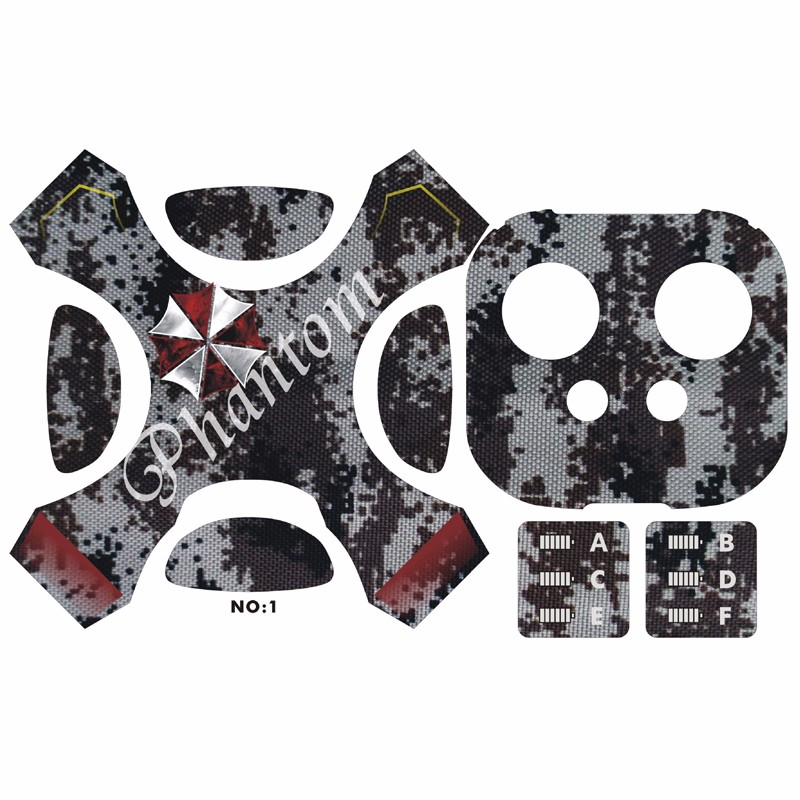 Drone UAV Stickers Accessories For DJI Phantom 4 universal body and Remote controller HD stickers