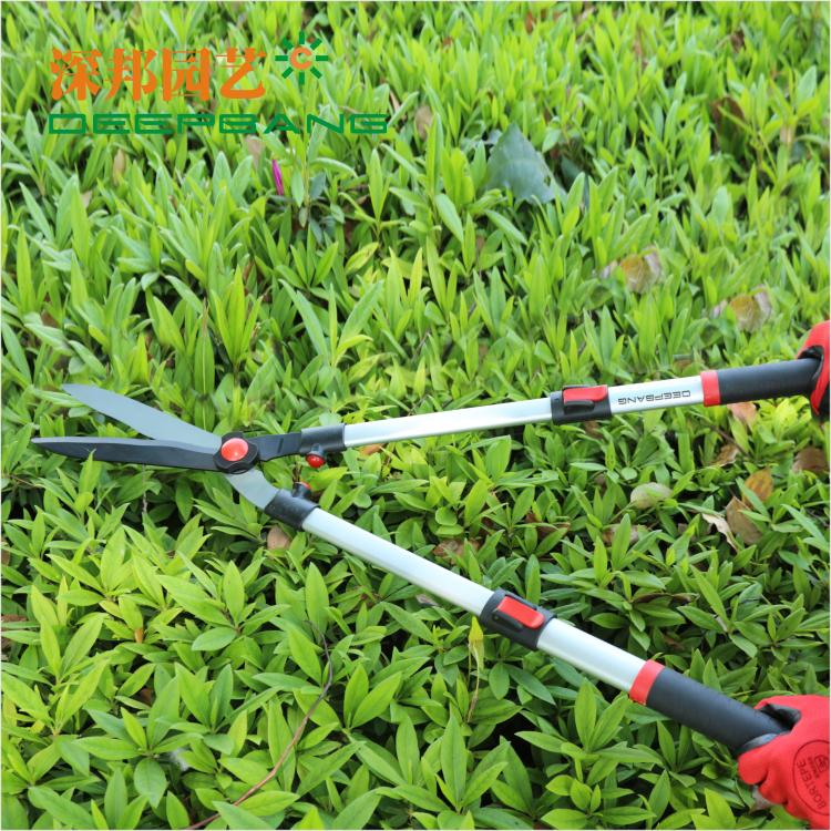 Garden scissors retractable tree shears gardening scissors for Big scissors for gardening