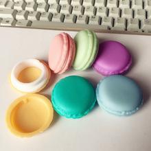 6 pcs/Lot Mini clips dispenser Macaron storage box Candy organizer for eraser zakka Gift Stationery Office school supplies 5028(China (Mainland))