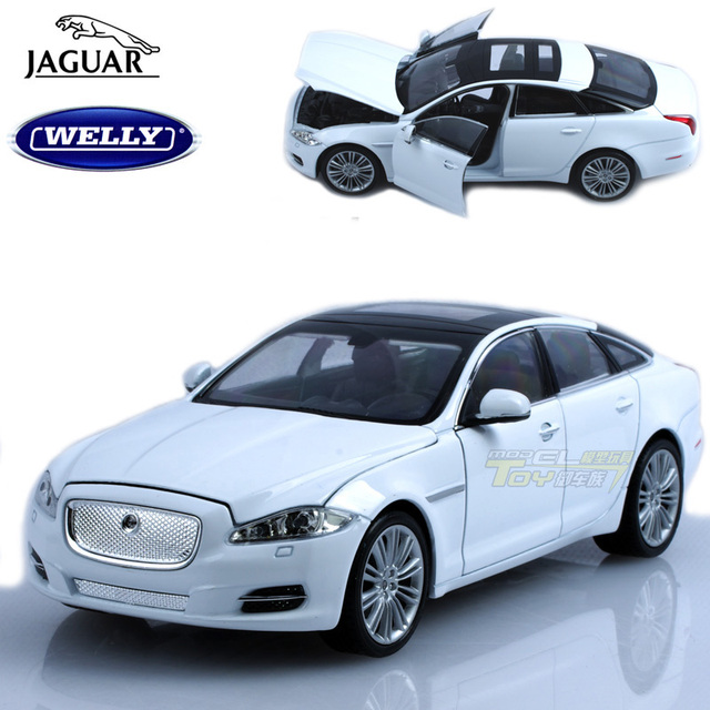 free shipping Wyly jaguar xj alloy car model artificial cars