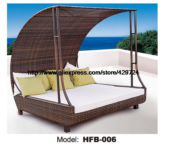 luxury rattan sofa bed with rattantent leisure beach sofa. Black Bedroom Furniture Sets. Home Design Ideas