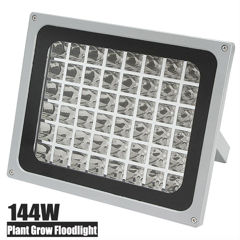 NEW 144W LED Plant Grow Flood Light 32 Red 16 Blue Greenhouse Hydroponics Fruit Flower Vegetable 120 degree Growing Floodlight<br><br>Aliexpress