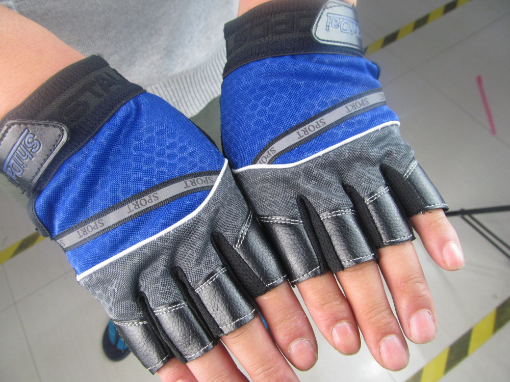 14 Free shipping Sports Fitness Exercise Training Gym Gloves Multifunction for Men Women sweat absorption friction