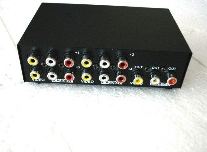 Аудио-видео rca-переключатель