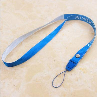 Mobile phone id button hang rope 1.2 m plastic plug type student certificate to hang on the rope(China (Mainland))