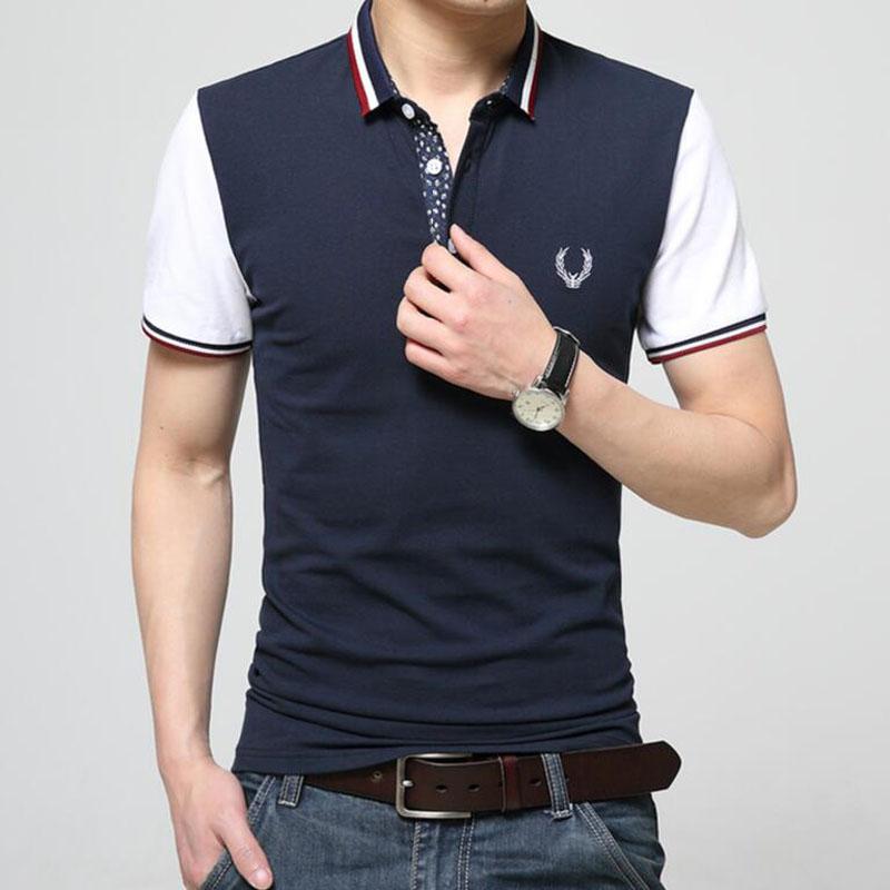 2016 top fashion New Brand Men's Shirts Summer Style s Short Sleeve Solid Shirt Sports Jerseys Golf Tennis Blouse(China (Mainland))