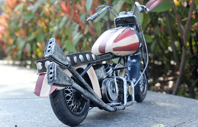 car-styling Metal materials Car model motorcycle toys for children large size
