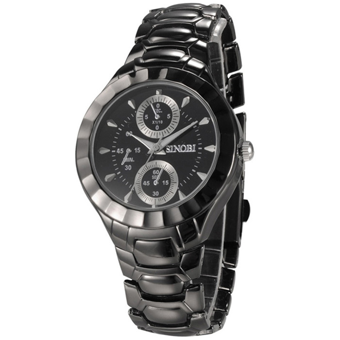 SINOBI brand watches Strip watch men and women Fashion lovers table Decorative dial Casual black and white Wristwatch(China (Mainland))