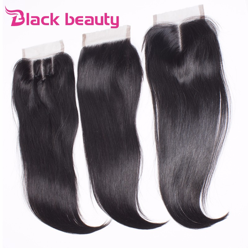 8A malaysian straight hair 4 bundles with closure malaysian virgin hair with closure human hair weave bundles with lace closure