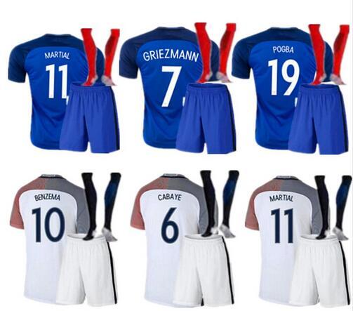 HOT 2016 17 men kit and socks superior de tailandia Shirt shorts camisetas de football shirt European Cup 2016 Free shipping(China (Mainland))