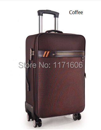 Fashion 20 inch travel suitcase Trolley case Luggage bag Unisex PU Spinner wheels Rolling - Hi-sun Bags & Gifts Store store